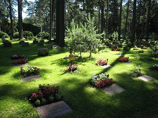 Skorgskyrkogarden(森の十字架)2